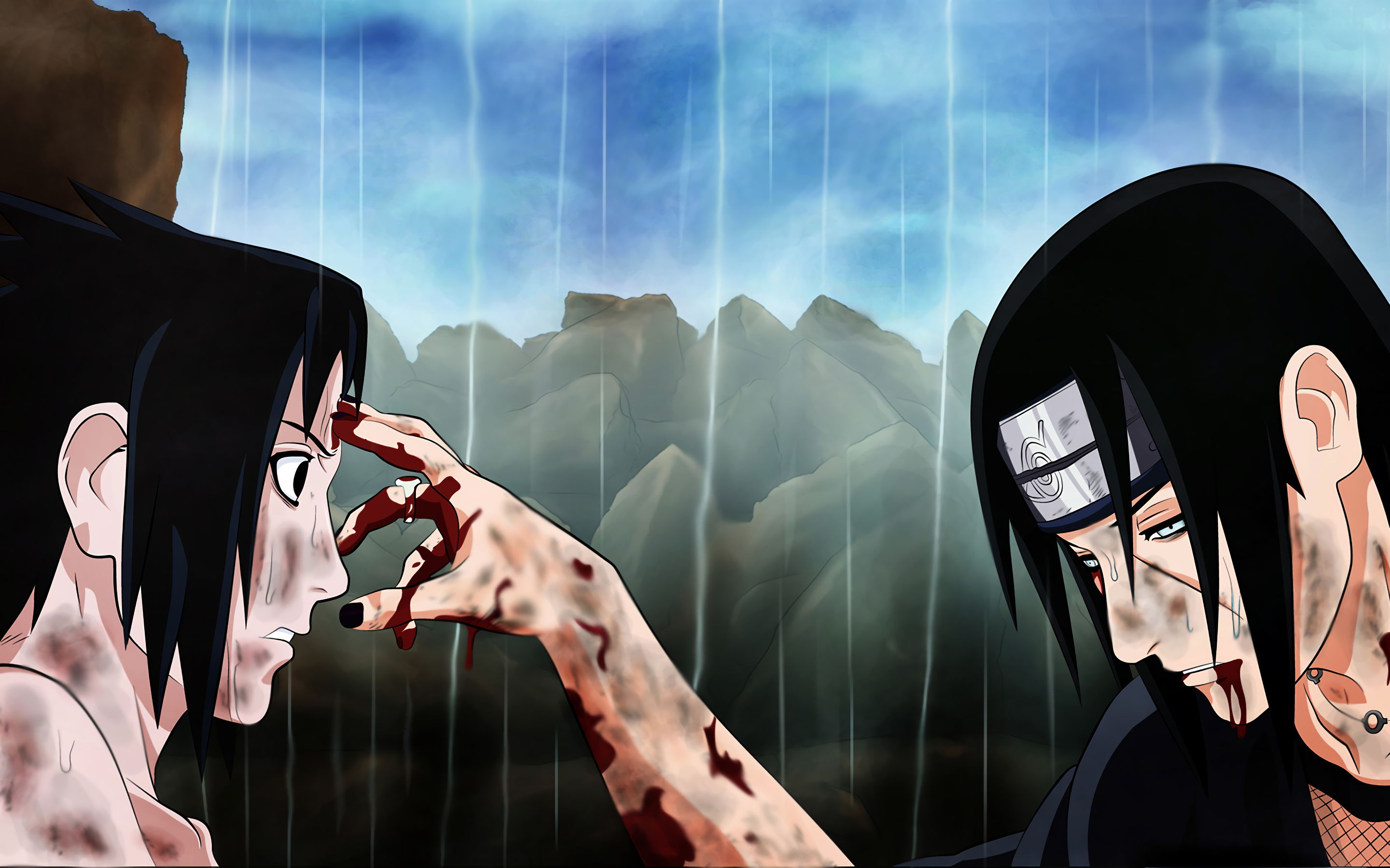 Sasuke And Itachi Wallpaper