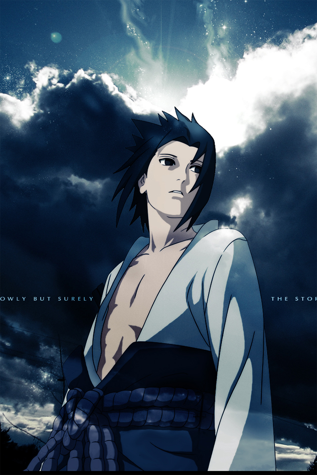 Sasuke Iphone Wallpaper
