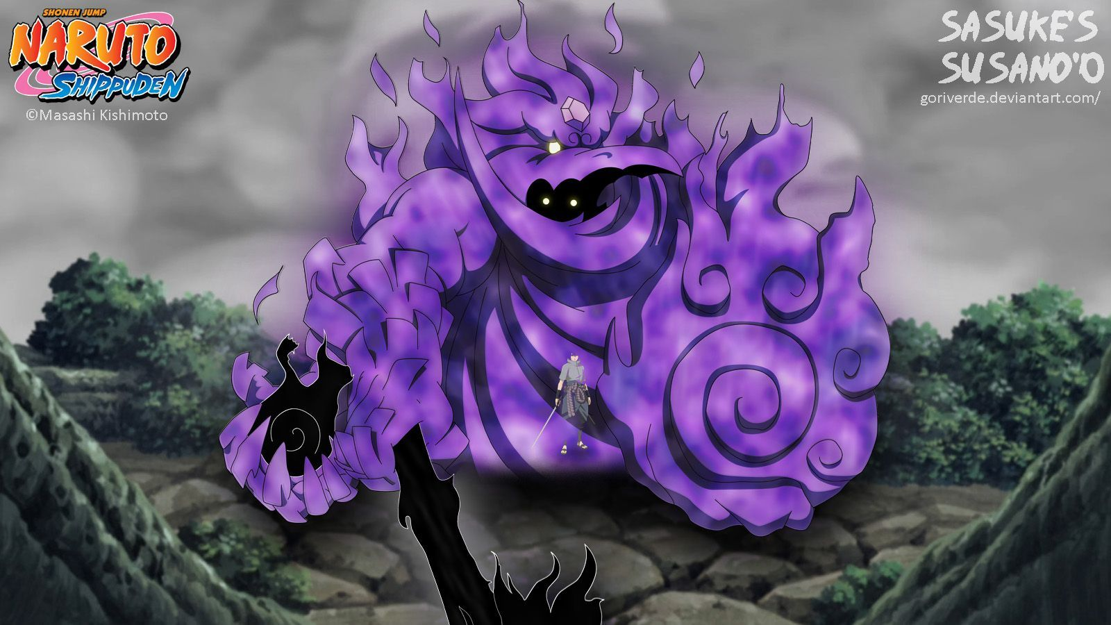 Sasuke Susanoo Wallpaper