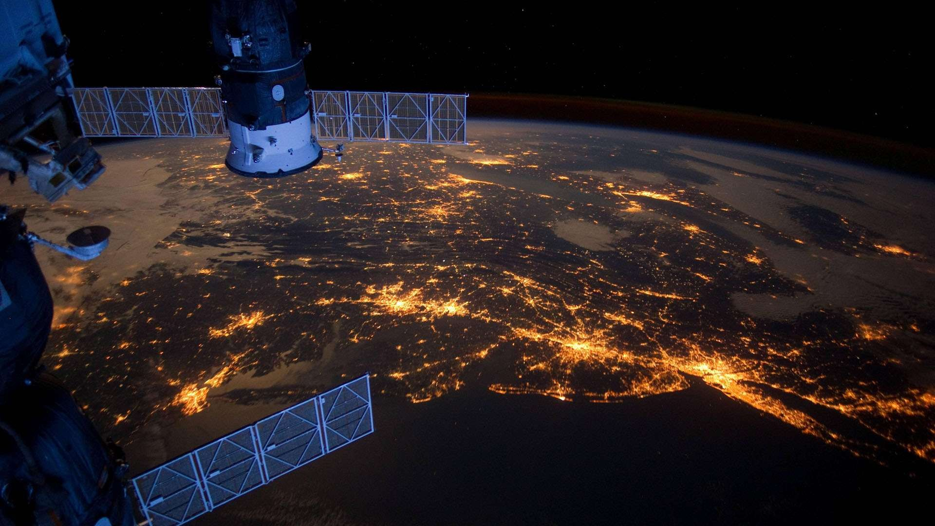 Satellite Image Wallpaper