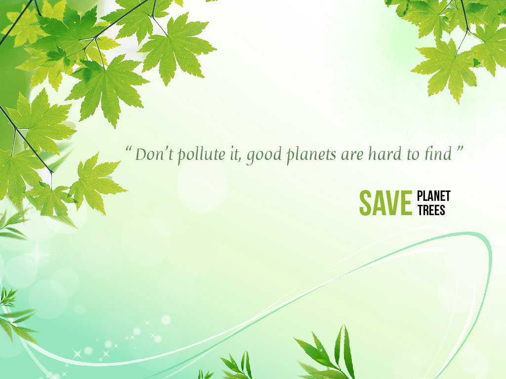 Save Tree Wallpaper