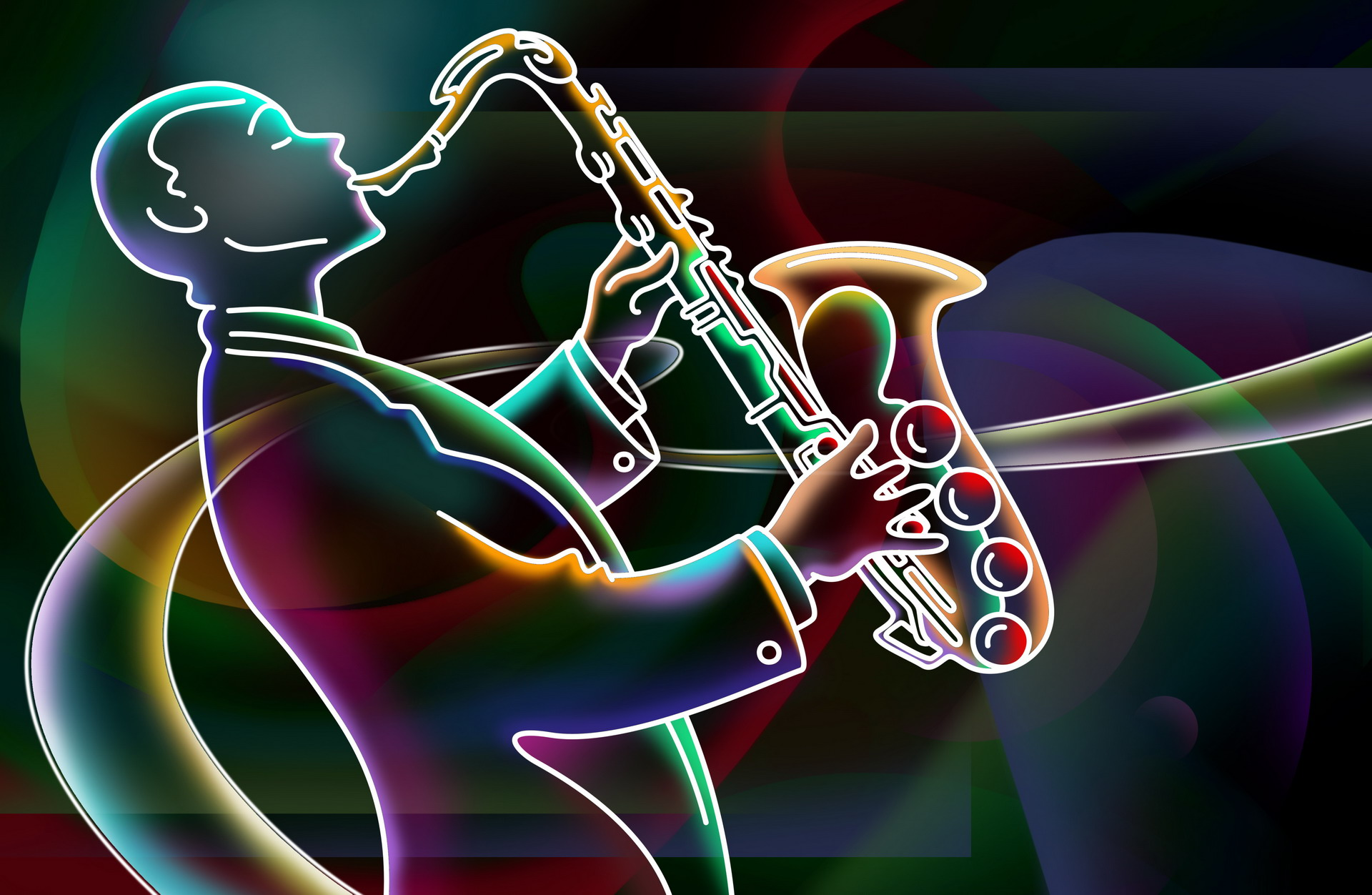 Saxophone Wallpaper