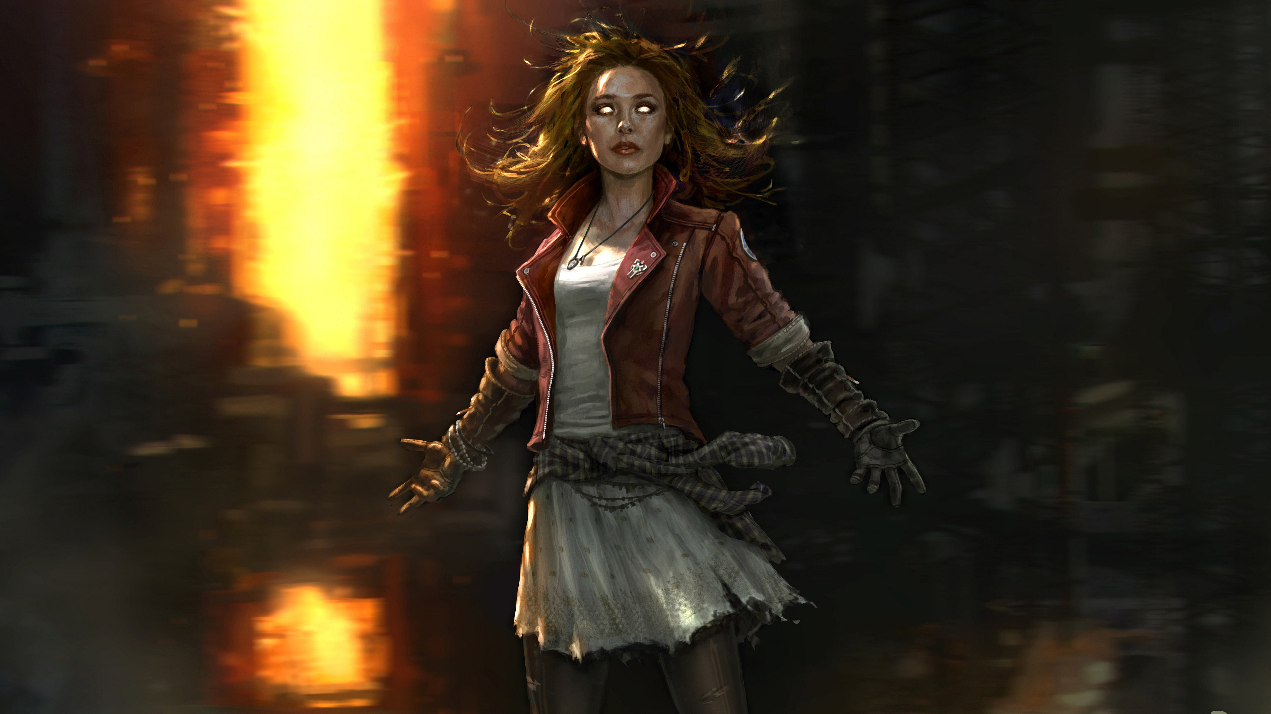 Scarlet Witch Wallpaper