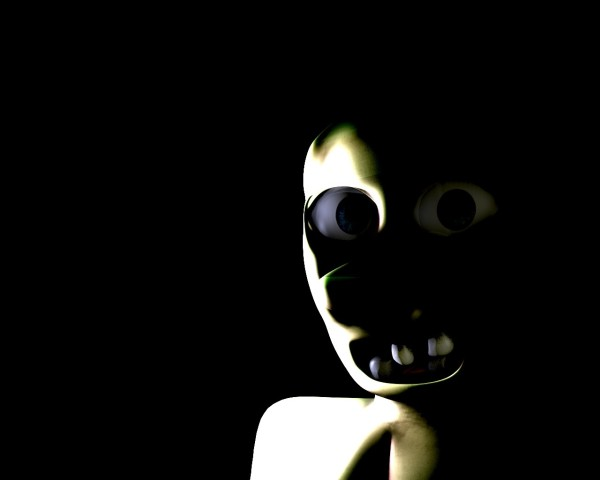 Scary Black Wallpaper