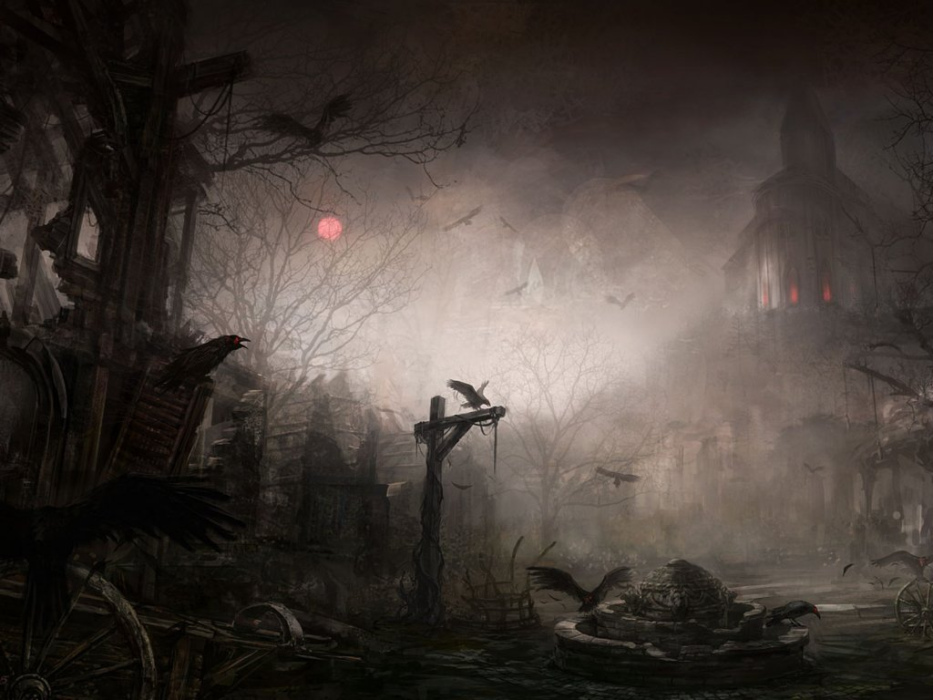 Scary Night Wallpaper