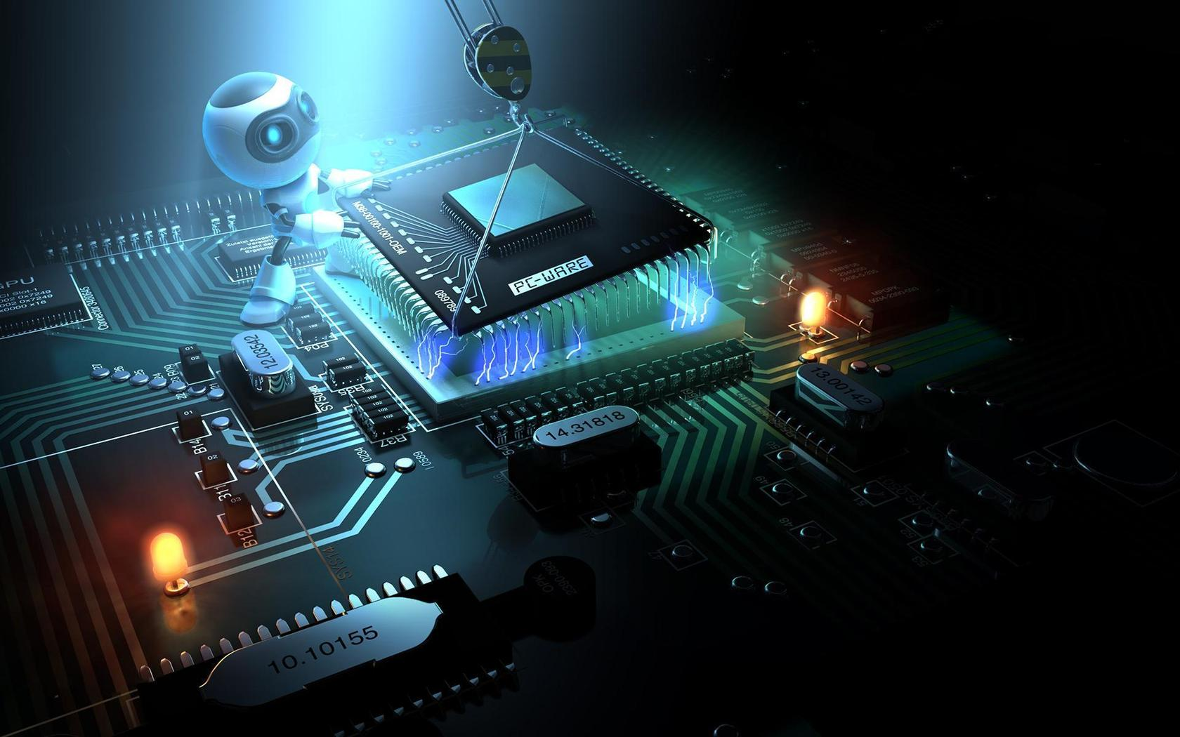 Science And Technology Wallpaper