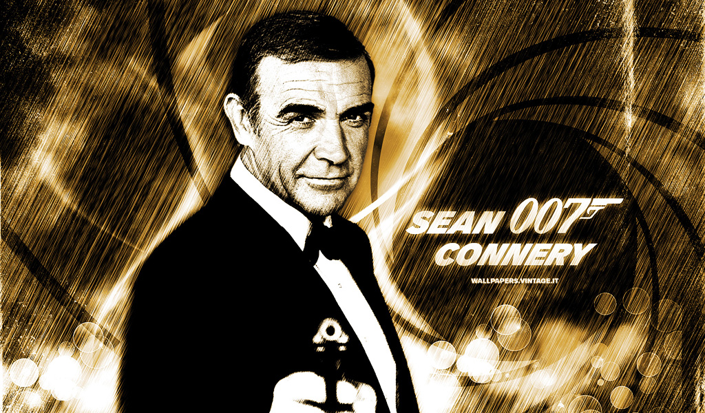 Sean Connery James Bond Wallpaper