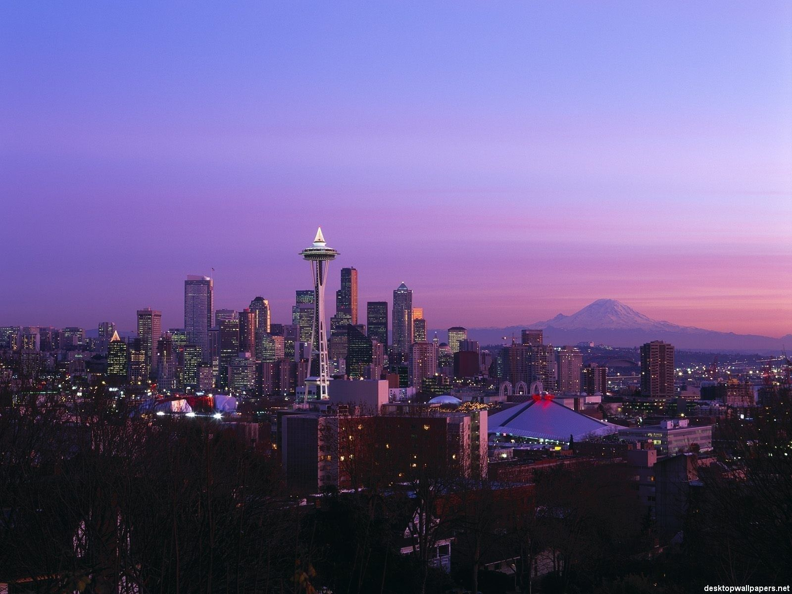Download Seattle At Night Wallpaper Gallery
