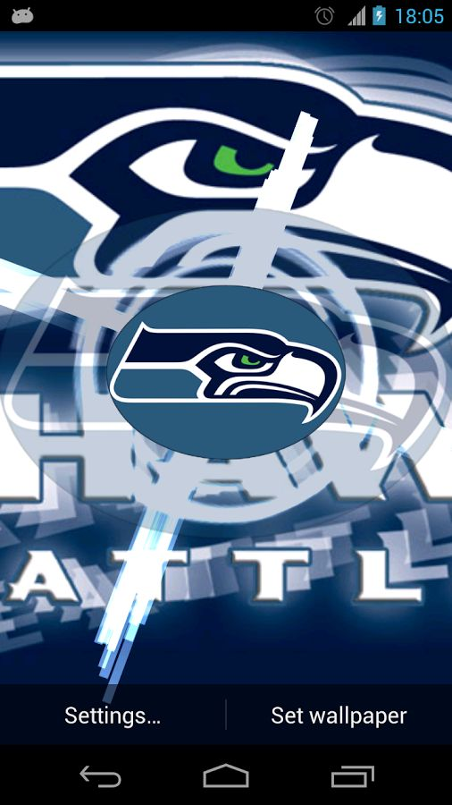Seattle Seahawks Live Wallpaper