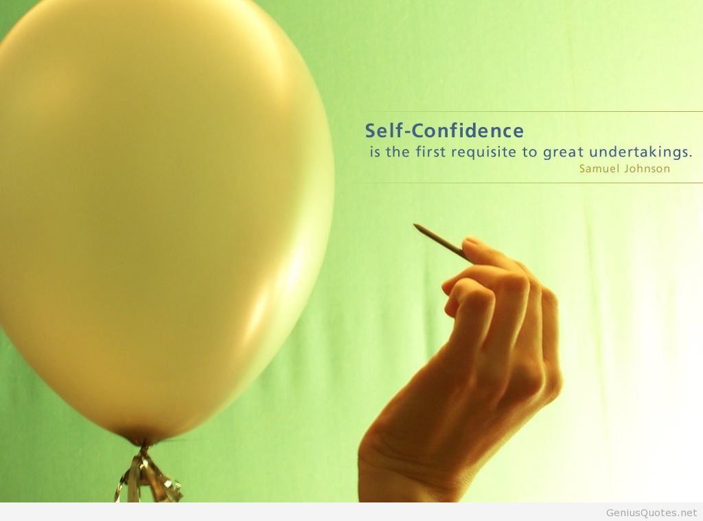 Self Confidence Quotes Wallpapers