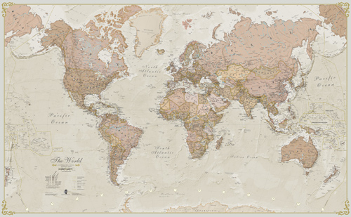 Sepia world map wallpaper timekeeperwatches download sepia world map wallpaper gallery updated gumiabroncs Images