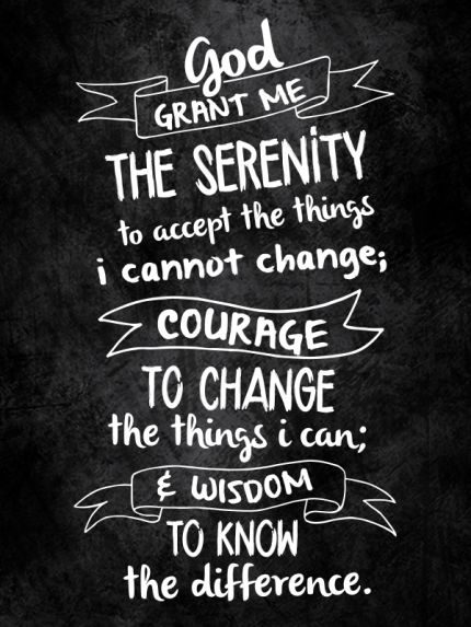 Serenity Prayer Wallpaper For Phone