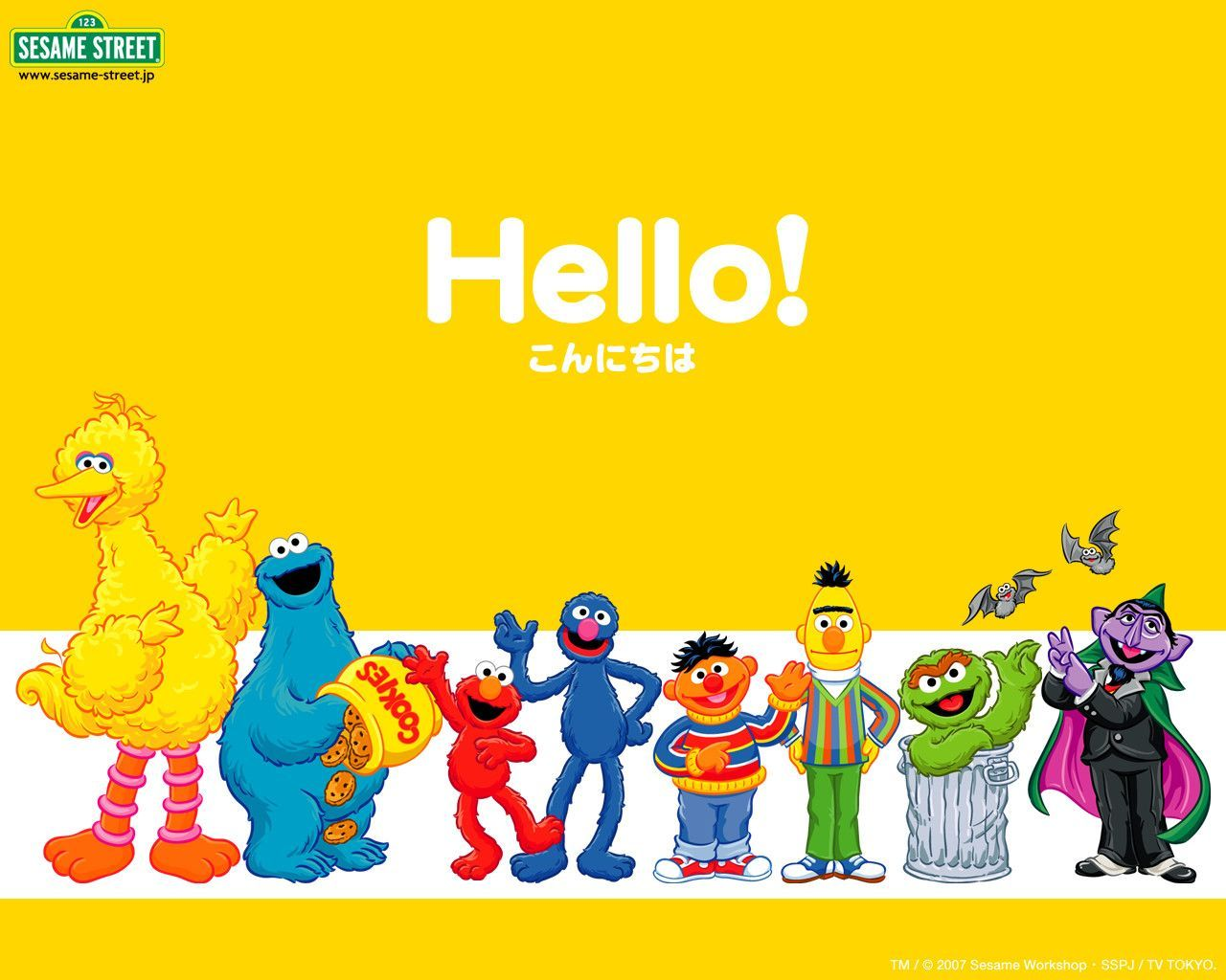 Sesame Street Wallpapers