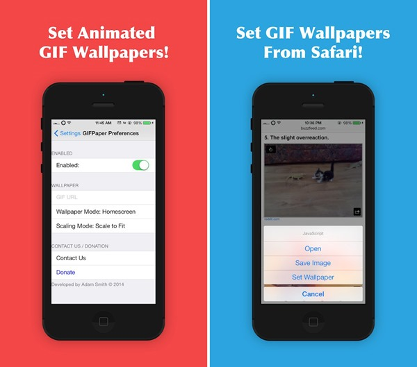 Set Gif As Wallpaper