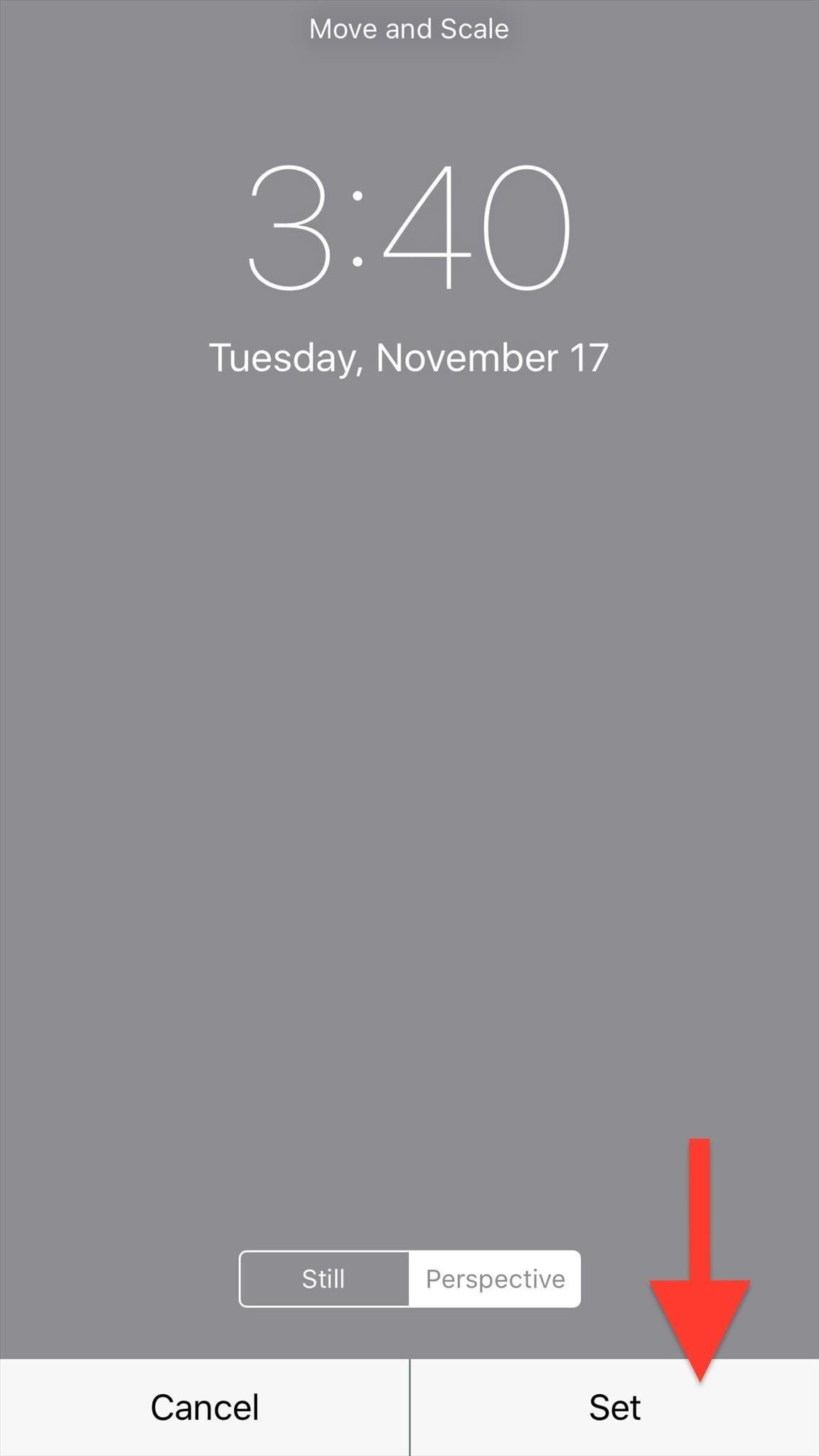 Setting Wallpaper On Iphone