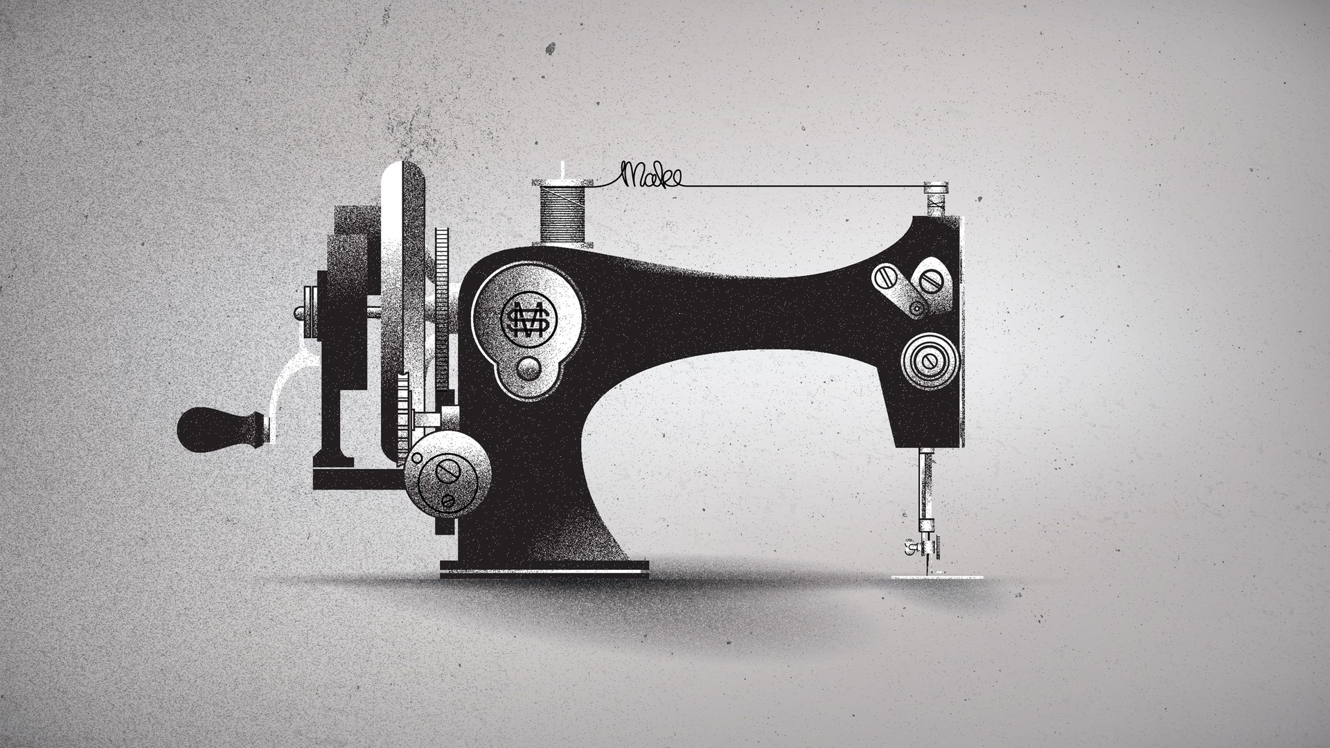 Sewing Machine Wallpaper