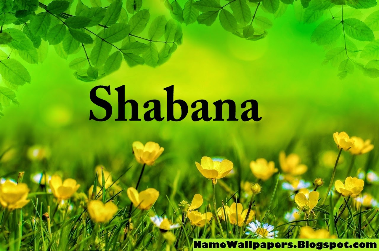 Shabana Name Wallpaper