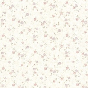 Shabby Chic Pink Wallpaper