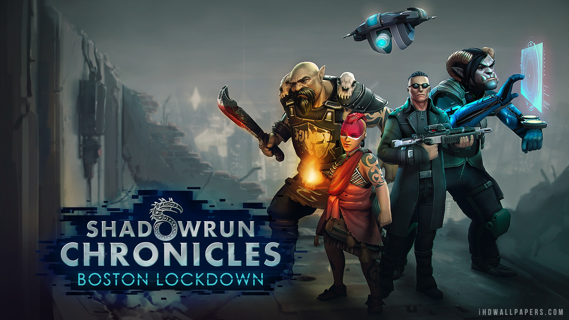 Shadowrun Wallpaper