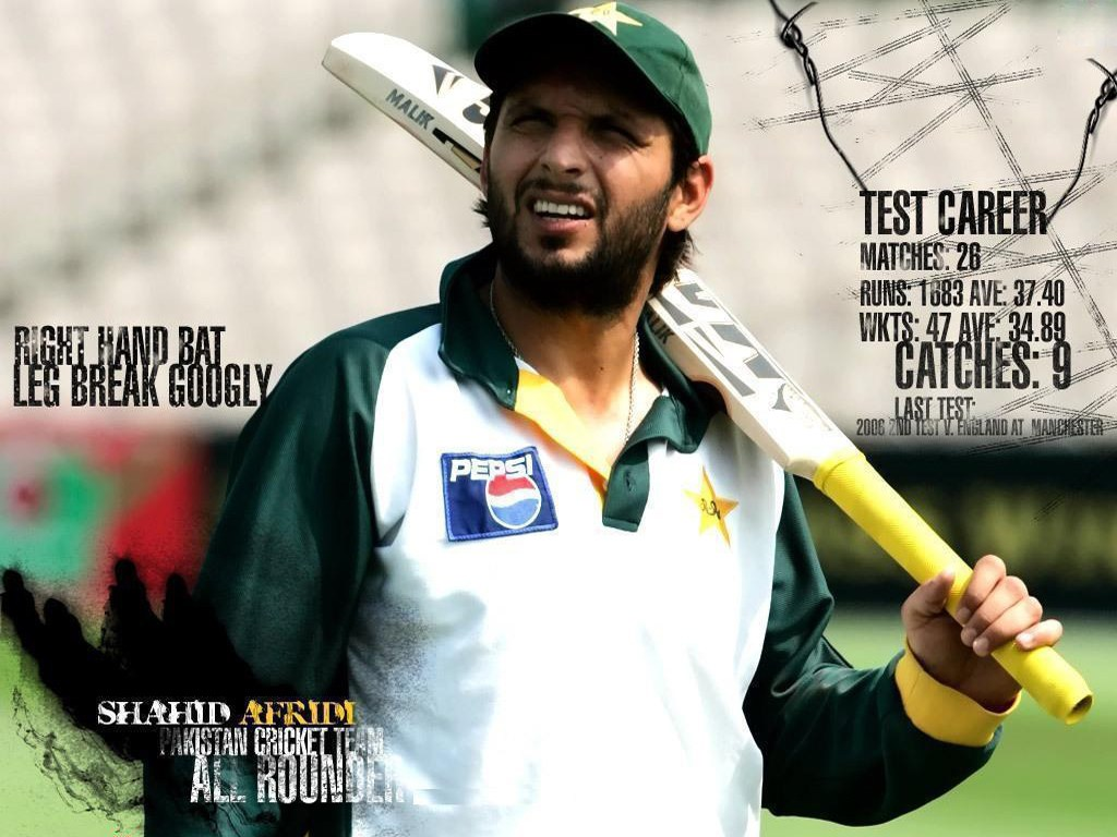 Shahid Afridi Pictures Wallpapers