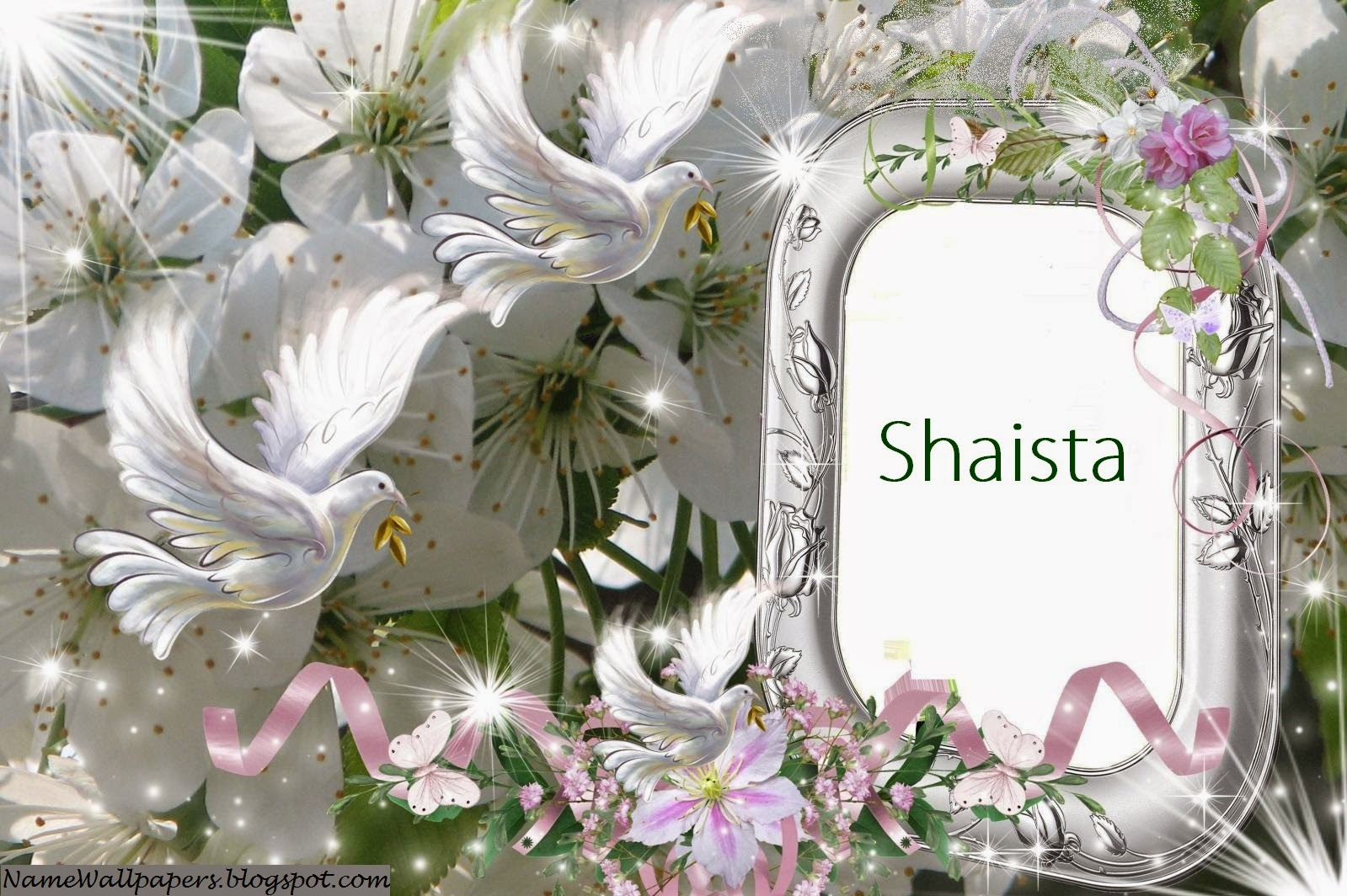 Shaista Name Wallpaper