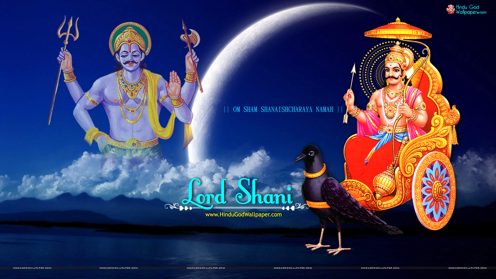 Shani Dev Full HD Wallpaper