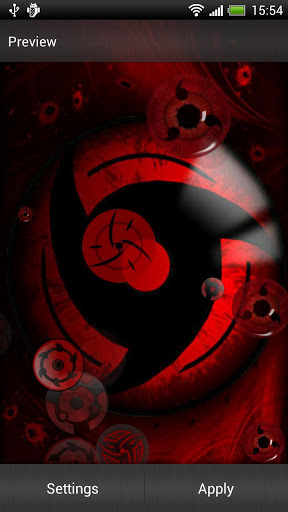 Sharingan Live Wallpaper Apk Free Download