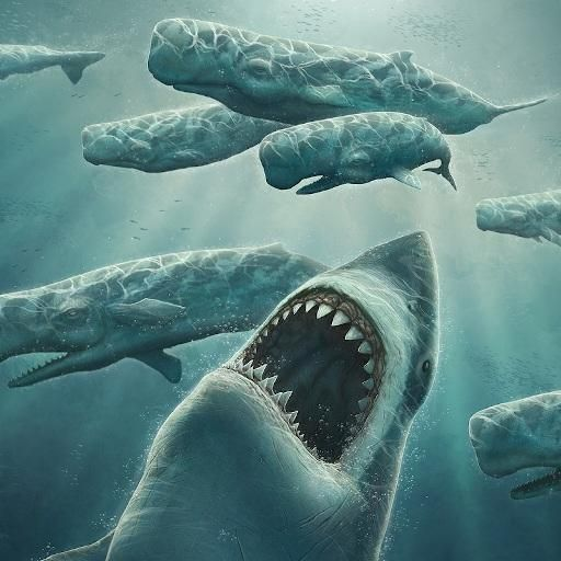 Shark Attack Live Wallpaper