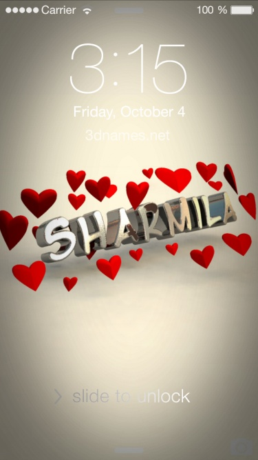 Sharmila Name Wallpaper