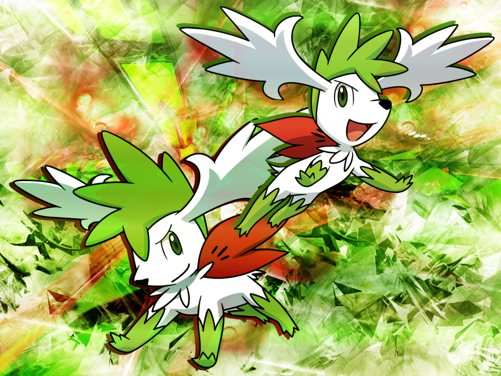 Shaymin Sky Form Wallpaper