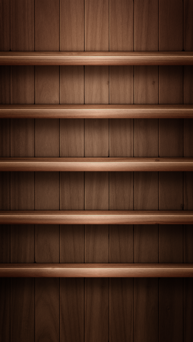 Shelf Iphone Wallpaper