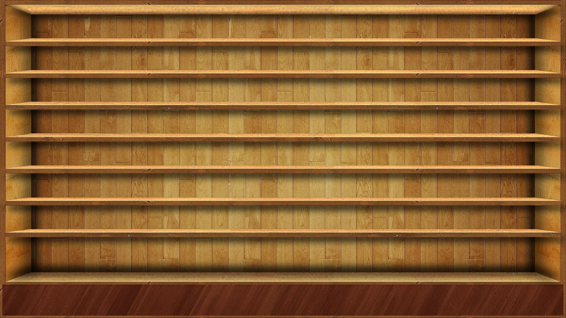 Shelf Wallpaper