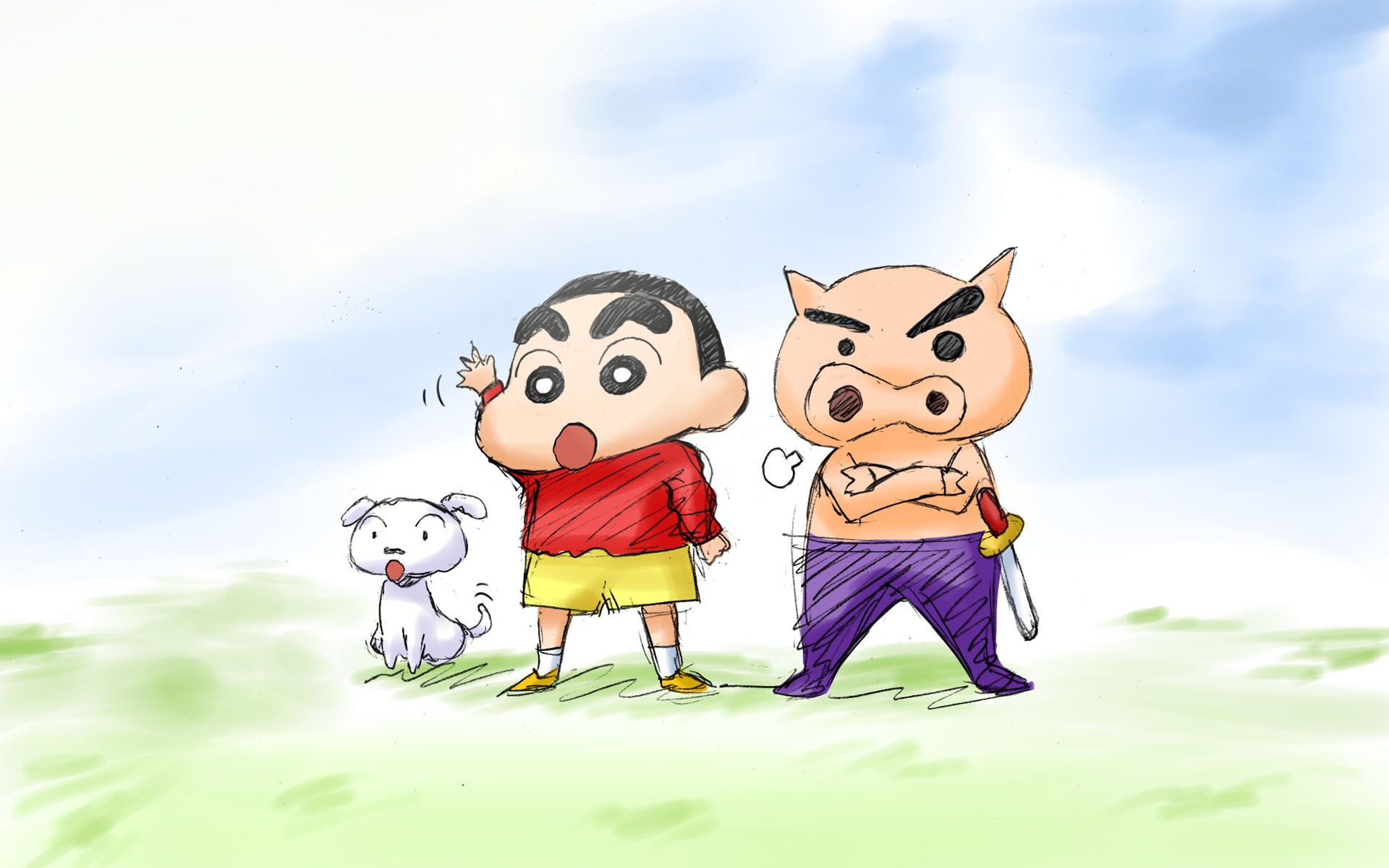 Download Shin Chan Wallpapers Gallery