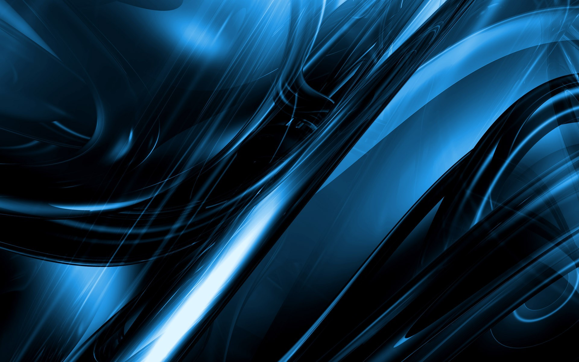 Shiny Blue Wallpaper