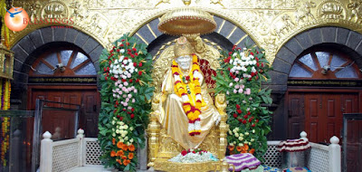 Shirdi Sai Baba Live Darshan Wallpapers