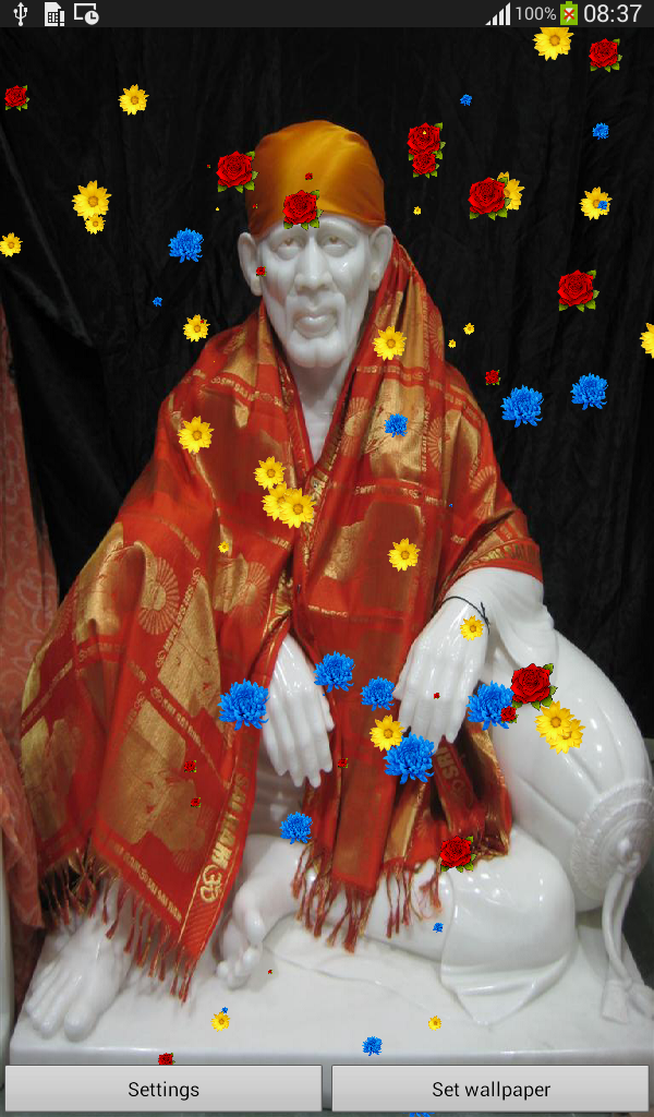 Shirdi Sai Live Wallpaper
