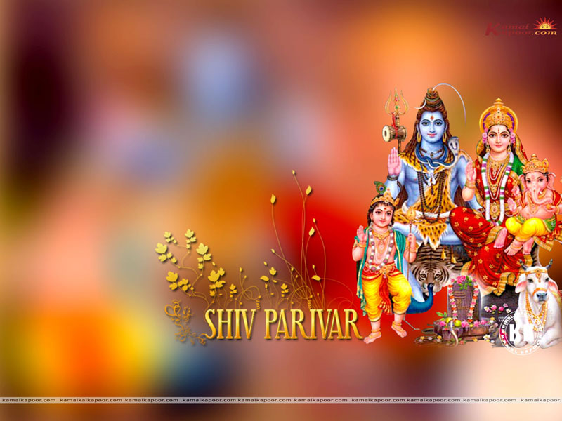 Shiv Parivar Wallpaper Free Download
