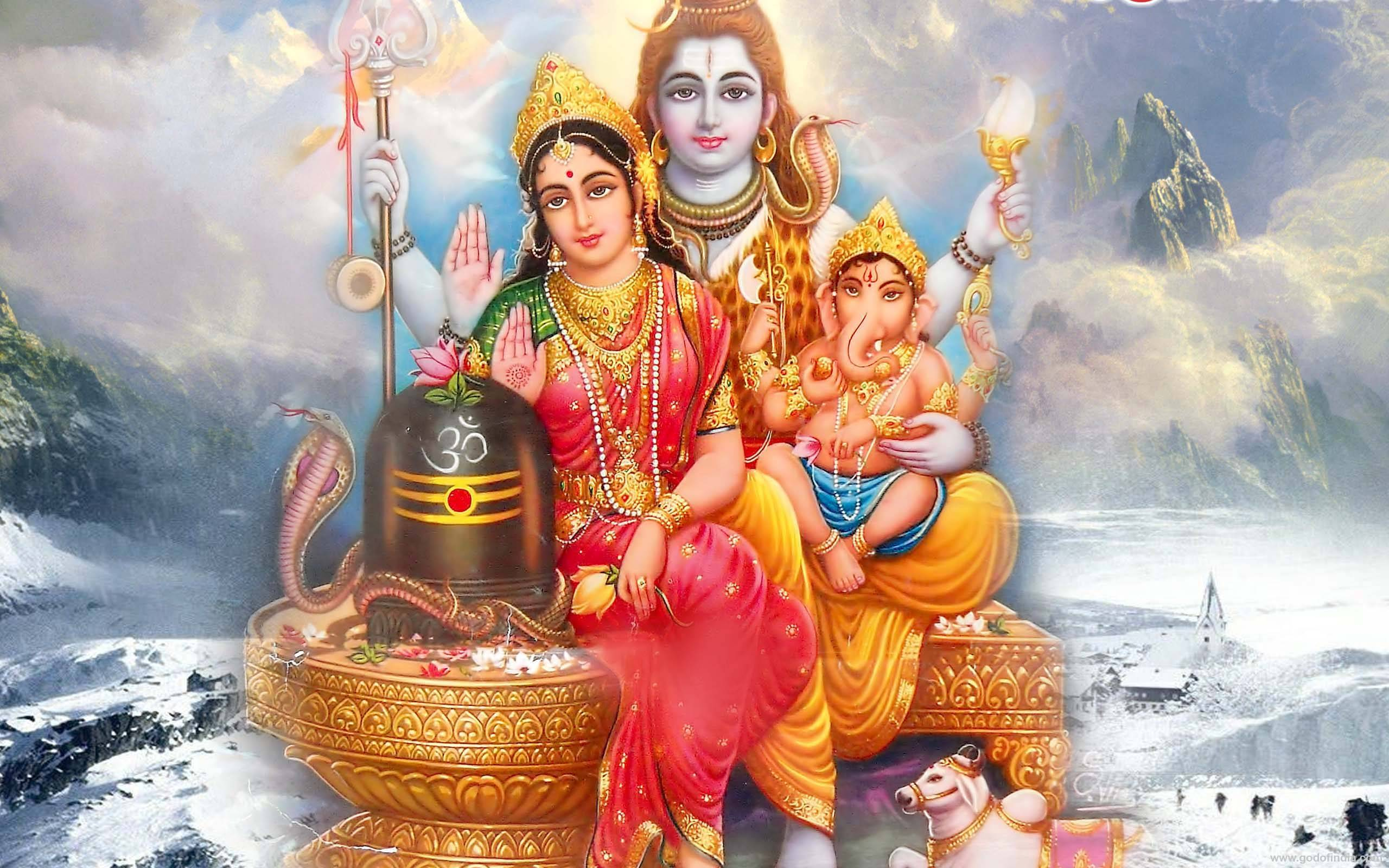 Shiv Parvati Wallpaper Full Size