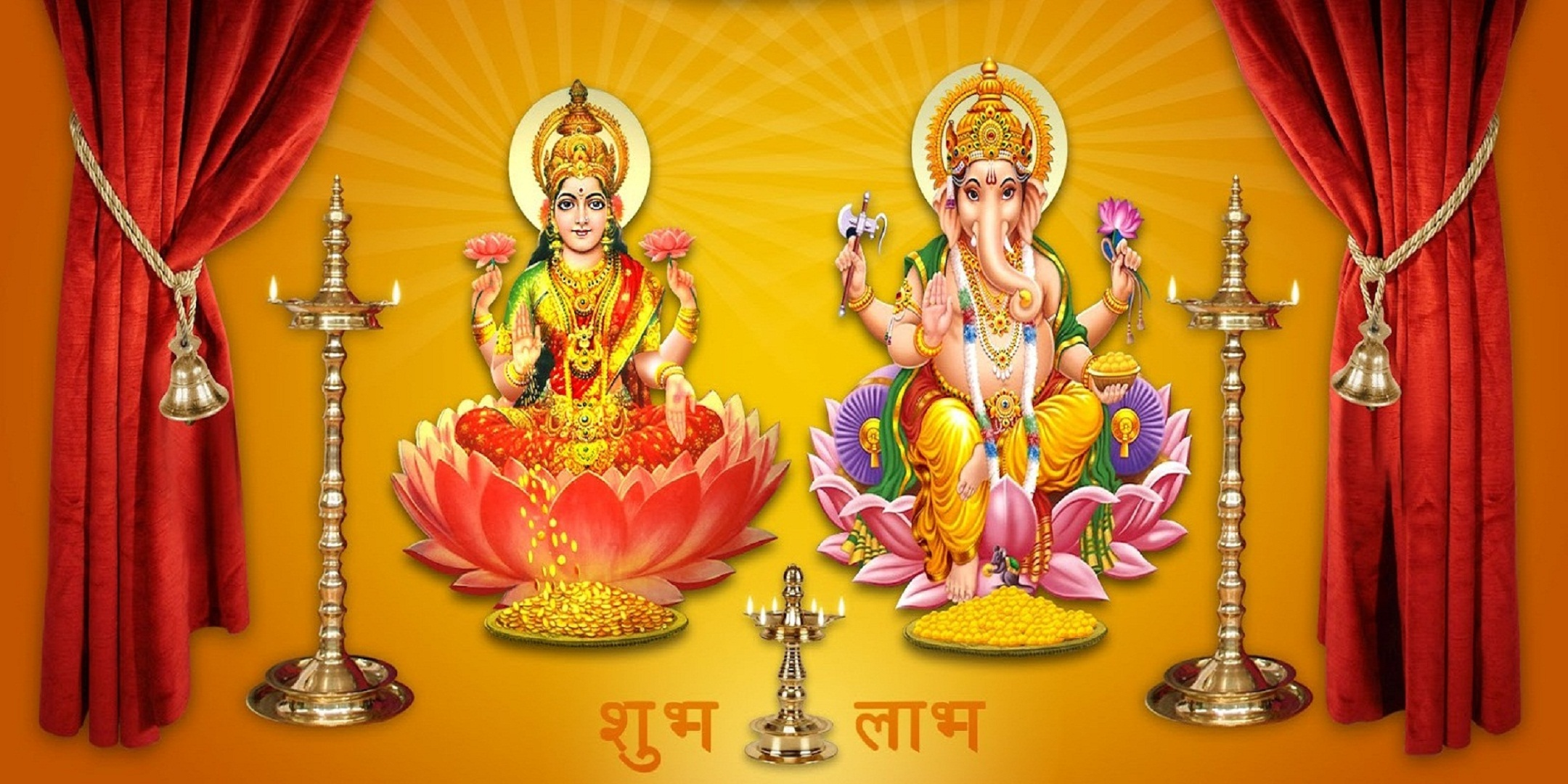 Download Shree Ganesh Pics Wallpapers Gallery | 2160 x 1080 jpeg 619kB