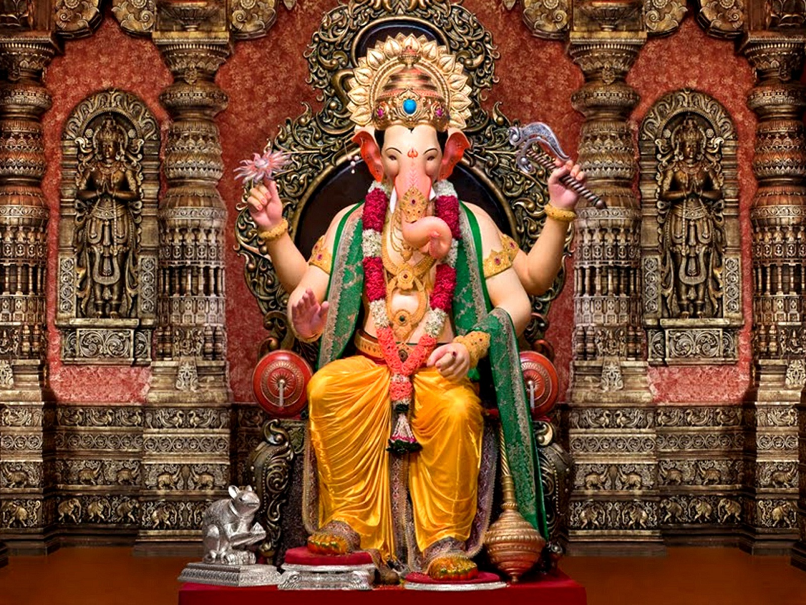 Download Shree Ganesh Pics Wallpapers Gallery | 1600 x 1200 jpeg 791kB