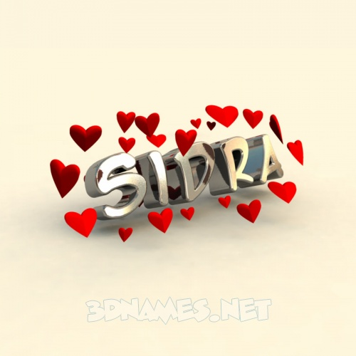 Sidra Name Wallpaper