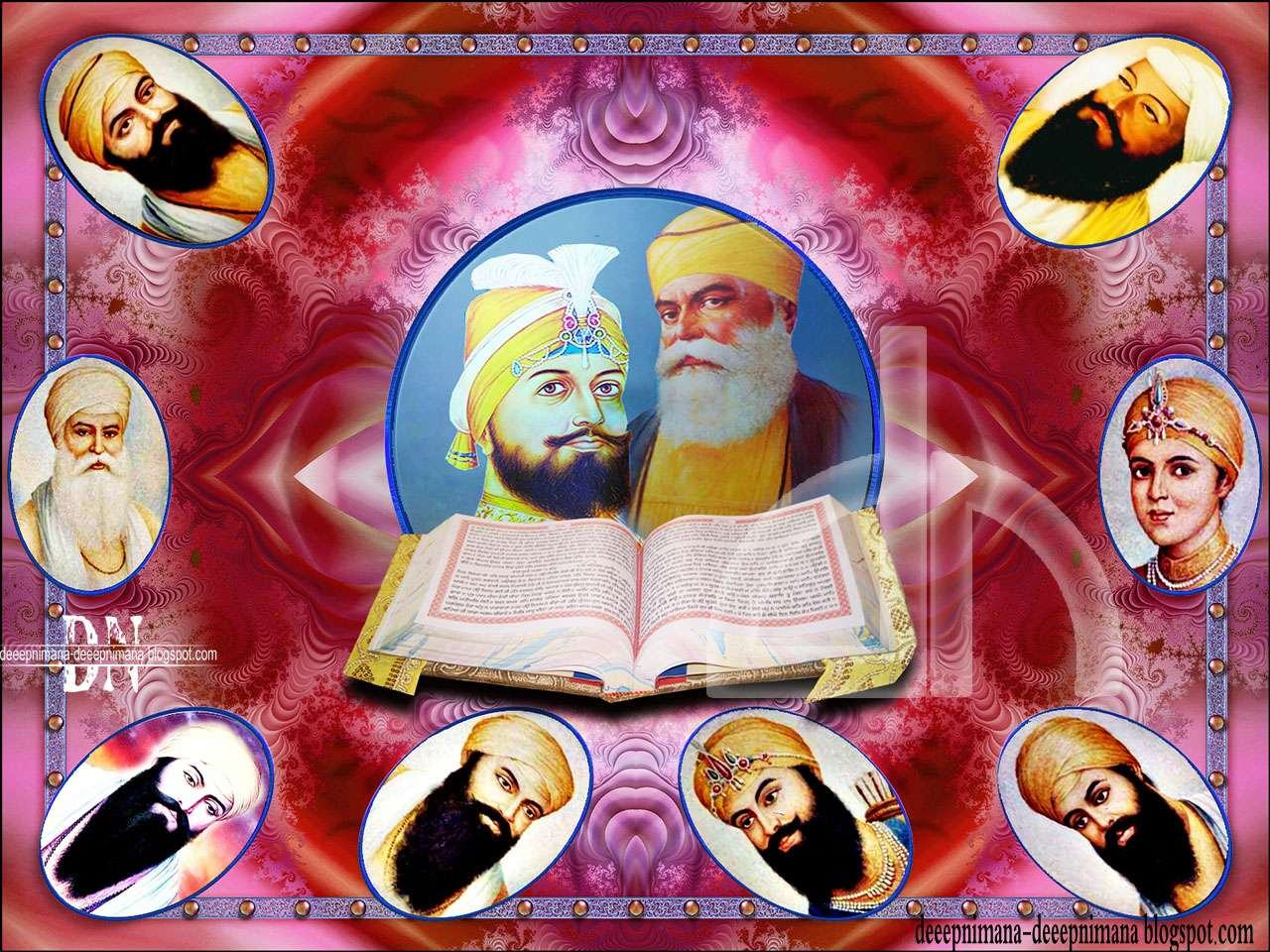 Sikh Gurus Wallpapers Free Download