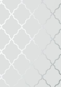 Silver And White Wallpaper