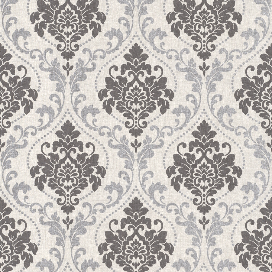 Download Silver Damask Wallpaper Gallery