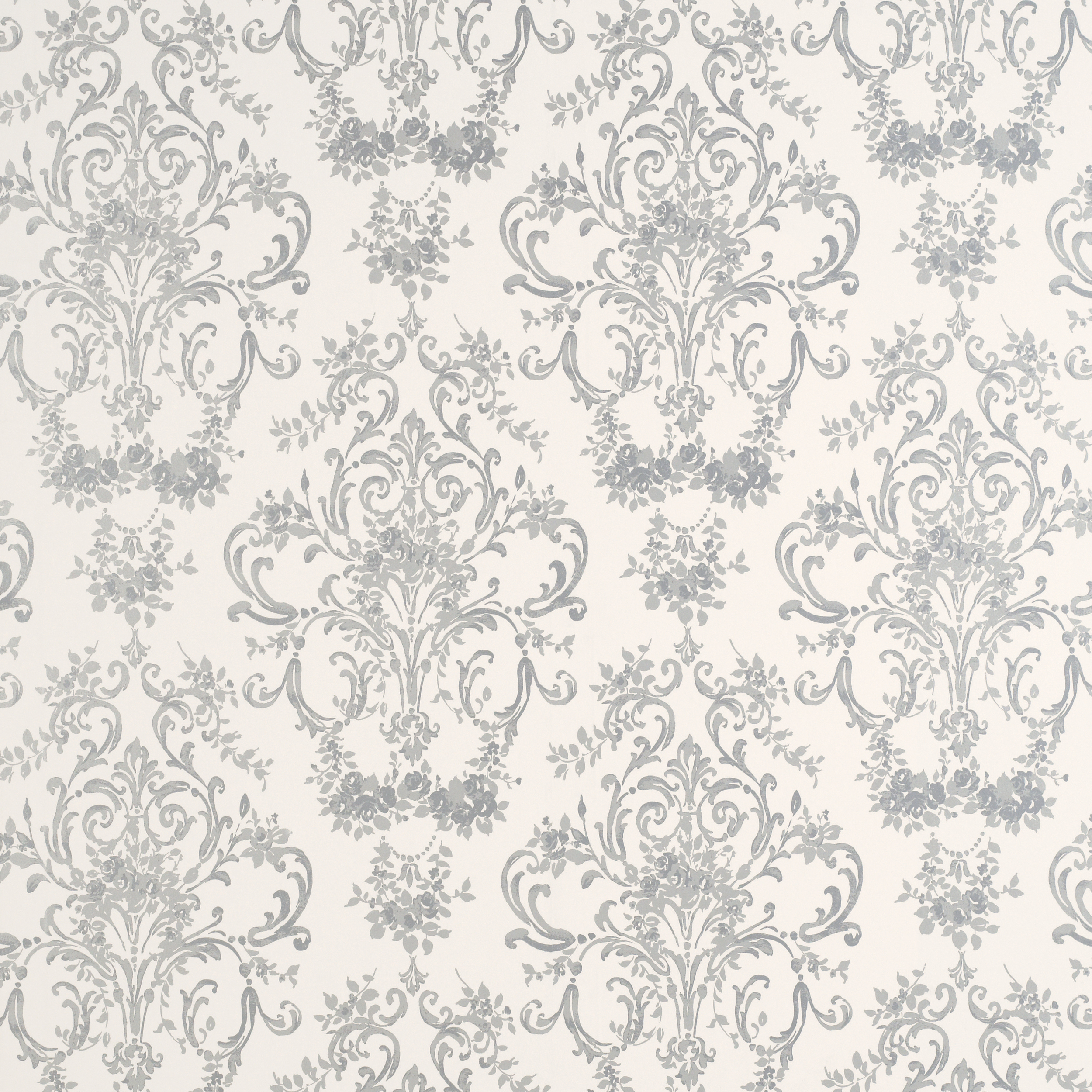 Silver Pattern Wallpaper