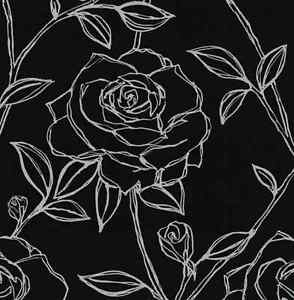 Silver Rose Wallpaper