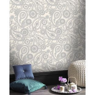 Silver Wallpaper Homebase