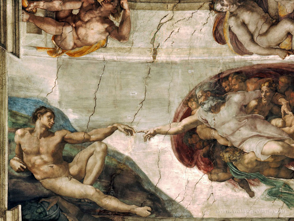 Sistine Chapel Wallpaper