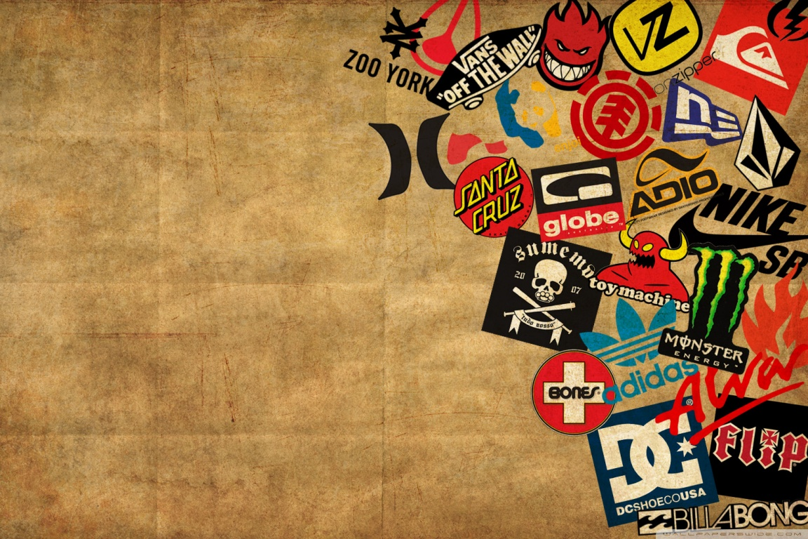 Skateboarding Logos Wallpapers