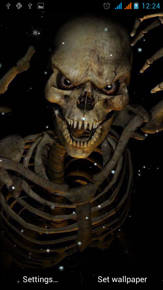 Skeleton Live Wallpaper